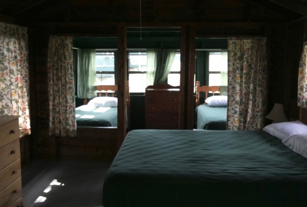 Cabin C bedroom